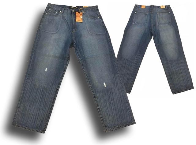 Herren Jeans Hose Denim Bootcut Straight Washed Vintage Light Blue Hosen Jeanshose 32-42 - 1,69 Euro