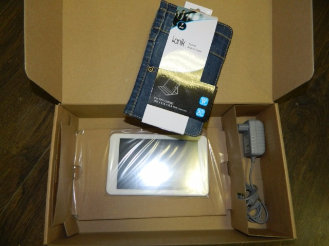 I-Onik Tablet Model TP7-1200QC inkl. Jeans Tasche
