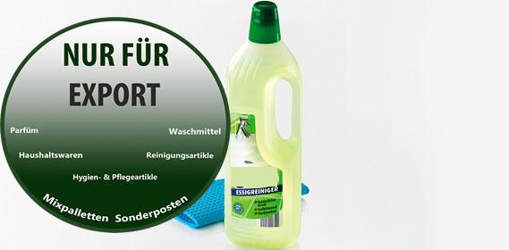 Essreiniger - Glassreiniger - Allzweckreiniger - Scheuermilch -  / NUR Export - deutscher Hersteller - Made in Germany - 1A Ware/  B Ware ! Euro-1 Ware!