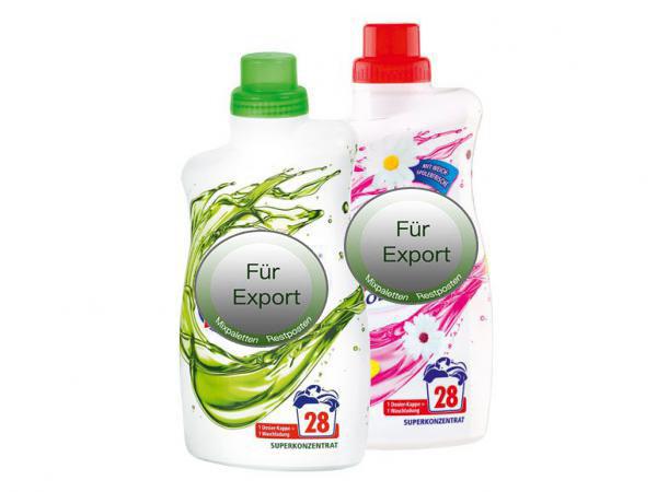 Waschmittel, Flüssigwaschmittel, Waschpulver, washing powder - detergents / Made in Germany - 1A Ware! Euro-1 Ware!