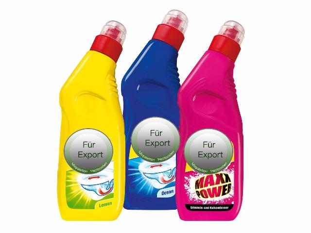 WC Reiniger - Wc hilfer -desinfection - Toilettenseife -  / NUR Export - deutscher Hersteller - Made in Germany - 1A Ware/  B Ware ! Euro-1 Ware!
