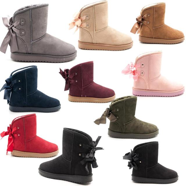 Damen Schnee Winter Stiefel Boots Schuhe