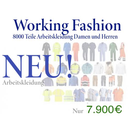 8000 Teile Arbeitskleidung 11 Pletten nur 0,90€ pro Teil - NEUWARE
