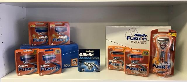 Gillette Großhandel - A Ware