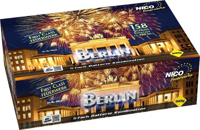 Berlin 158 Schuss Batteriefeuerwerk