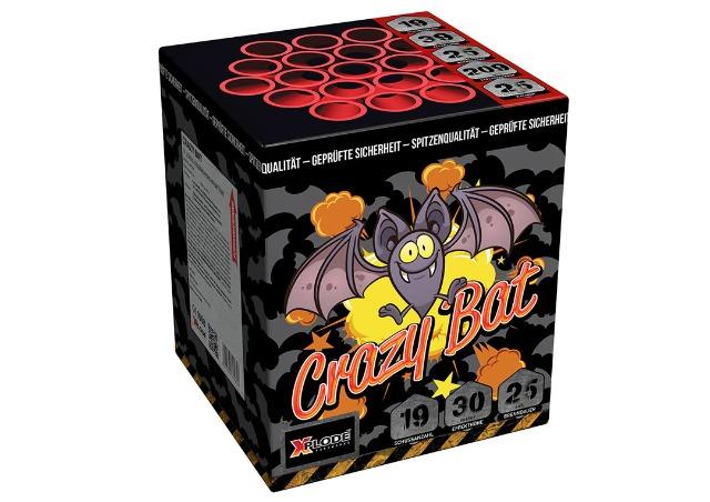 X Plode Batteriefeuerwerk Crazy Bat