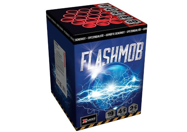 X Plode Batteriefeuerwerk Flashmop XXL Batterie 380 G NEM
