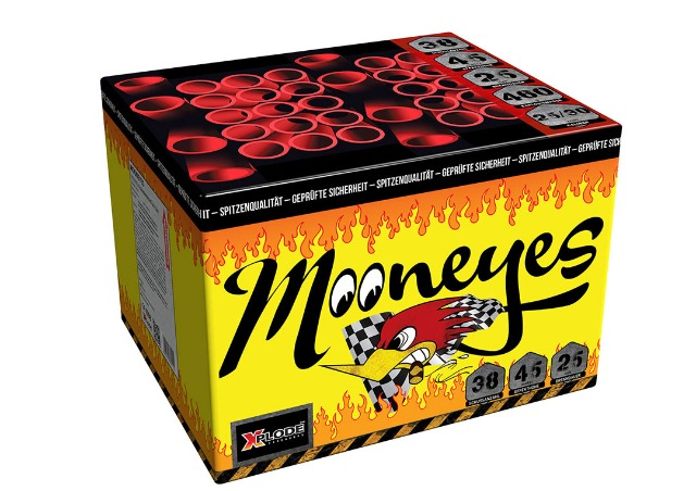 X Plode Batteriefeuerwerk Mooneyes - XXL Batterie
