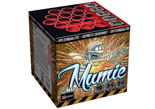 X Plode Batteriefeuerwerk Mumie