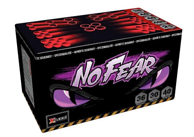 X Plode Batteriefeuerwerk No Fear - XXL Feuerwerksbatterie 432 G NEM