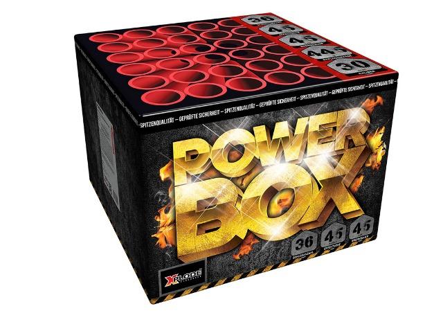 X Plode Batteriefeuerwerk Powerbox - XXL 500 G NEM Feuerwerksbatterie