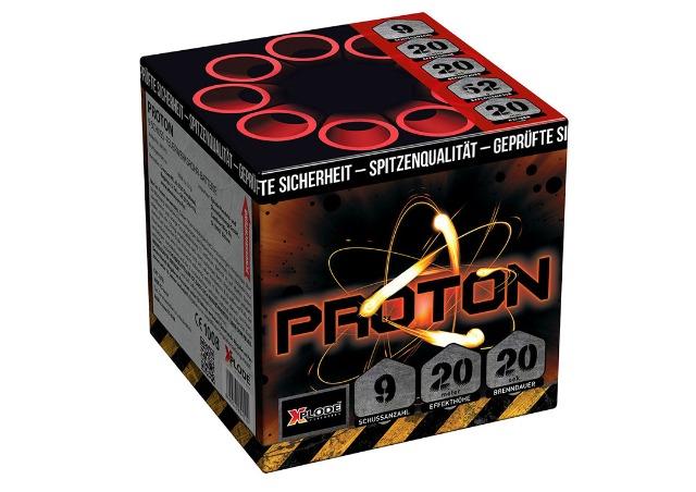 X Plode Batteriefeuerwerk Proton