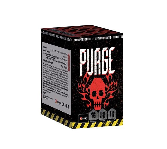 X Plode Batteriefeuerwerk Purge