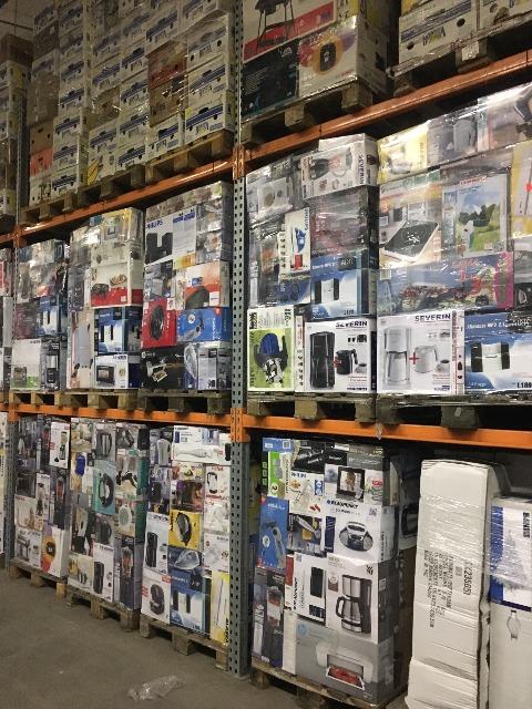 Mixpaletten Mischpaletten Markenware ...LKW Ladung..Full Truckload EXPORT Retouren