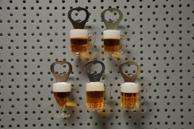 21-9319, Flaschenöffner Glas mit Magnet
