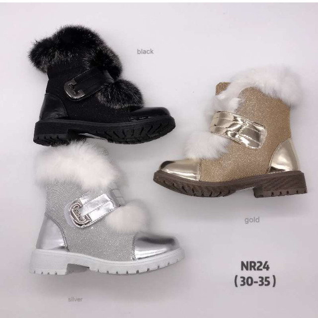 Kinder Herbst Winter Fell Stiefel Boots