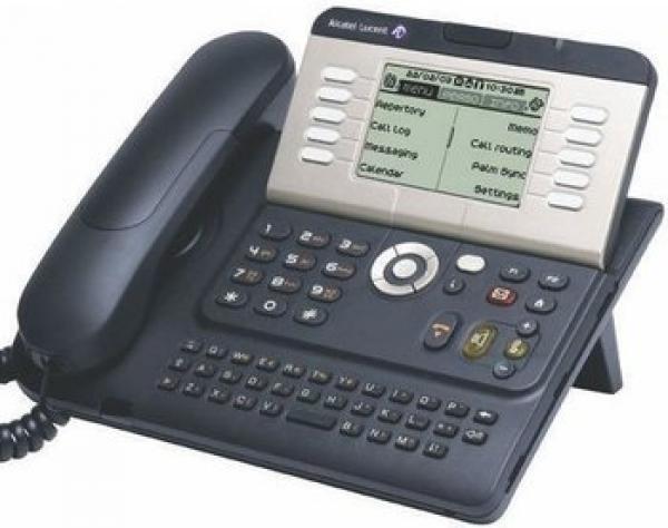 Alcatel Lucent 4039 urban grey Systemtelefon für Telefonanlage