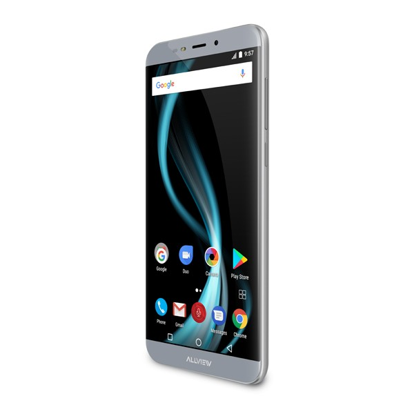 Allview X4 Soul Infinity S 5,7 Zoll LTE Smartphone mit Android 7.0, 3 GB RAM, OctaCore u.v.m in Steel grey