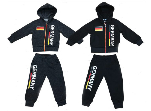 Kinder Jogging Anzug Sportanzug Trainingsanzug Jogginganzug Germany Fan - 7,90 Euro