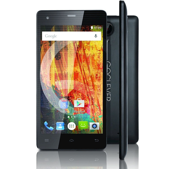 GoClever QUANTUM 3 500 Lite Smartphone 5 Zoll LTE QuadCore 1GB Handy mobil unterwegs Telefon Navi Navigation Kamera WLAN 3G 4G