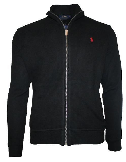 Ralph Lauren Pullover Jacke mit Zipp Reißverschluss Langarm