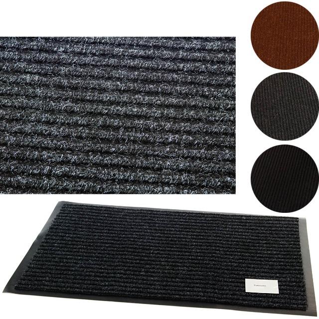 28-142791, Fußmatten 60 x 80 cm, Türmatten, Abtreter, Schmutzfangmatte Sauberlaufmatte, Bodenmatten