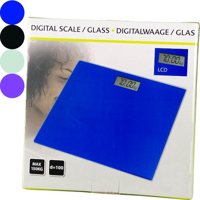 28-543239, Glas Digitale Personenwaage, LCD-Anzeige