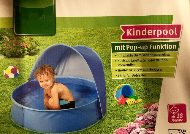 KINDER-POOL-MIT-UP FUNKTION