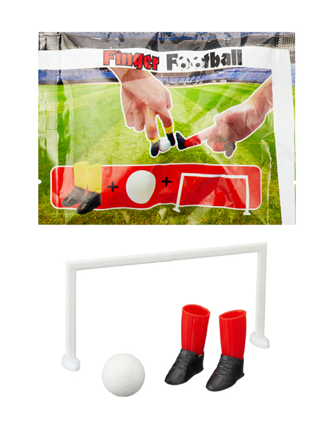 17-63066, Finger Fußball Spiel, 4-teilig, Fingerkicker