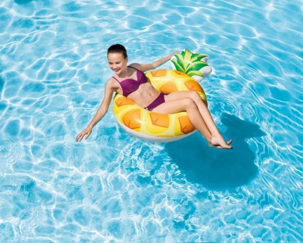 Schwimmreifen Pineapple Tube, ab 9 Jahre