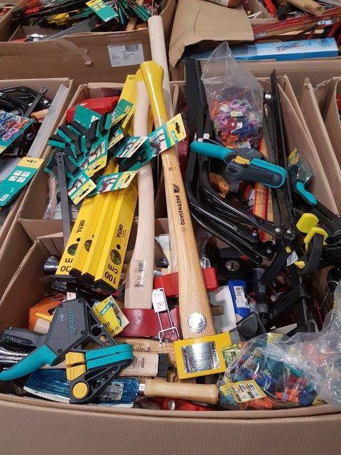 Werkzeug, Restposten, Misch, Mix,Paletten, Aktionsware, Sonderposten