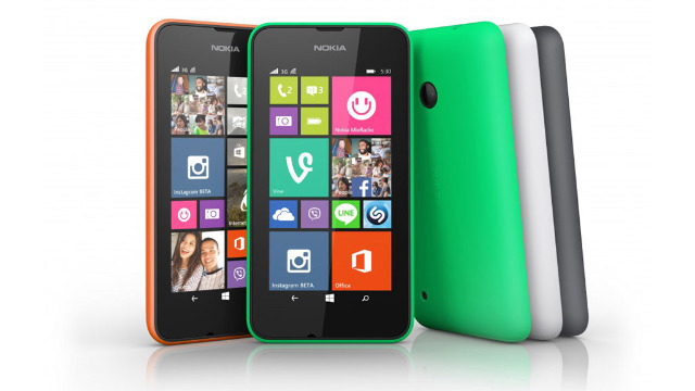 Nokia Lumia 530 Orange - Smartphone - Quadband