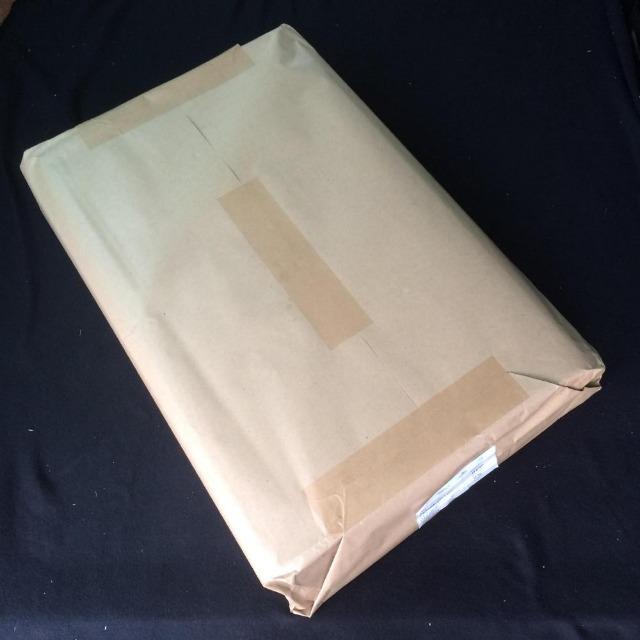 Packseide grau 75x100cm einseitig glatt 25g/qm