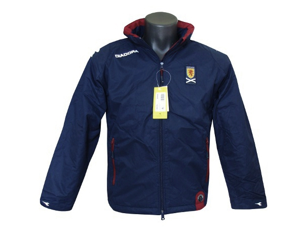 Children's autumn jacket with Diadora hood