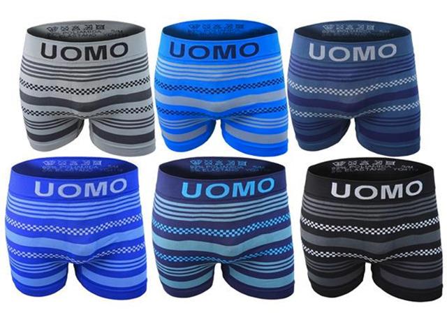 6436b34b69 Herren Boxershorts Boxer Stretch Muster Slip Uni Basic Hipster Short UOMO  Underwear Unterwäsche Unterhosen - 1