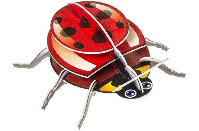 21-6930, Puzzle 3D Tiere, Insekten