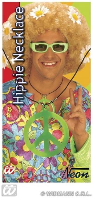 27-43235, Hippie-Kette Peace, Modeschmuck+++++++++++