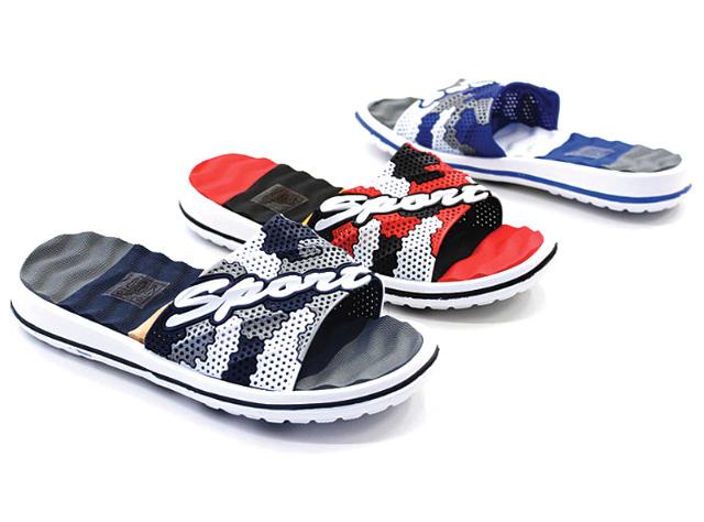 Herren Slippers Strandschuh Sommer Schuh Shoes Slip on Mix Sandale Sandalette Pantolette - 3,69 Euro