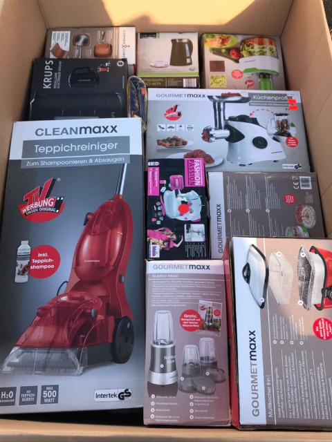Mixboxen Elekto Kleingeräte Küchengeräte  A+ B Ware 230€