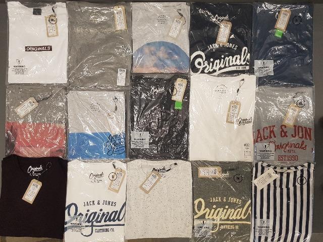 Jack & Jones, Solid und ähnliche T-Shirt MIX Posten