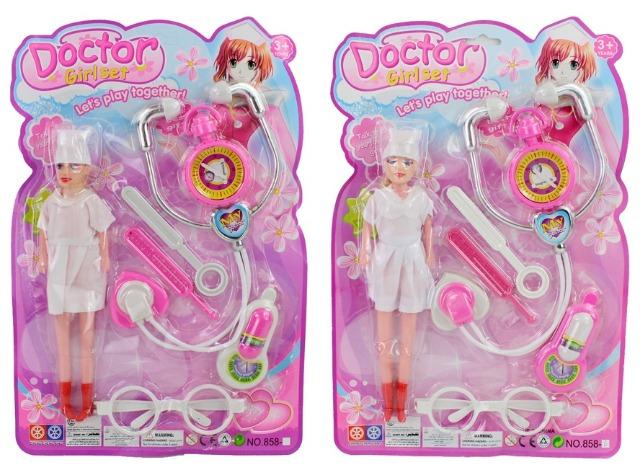 27-45434, Doktorset mit Puppe und Zubehör