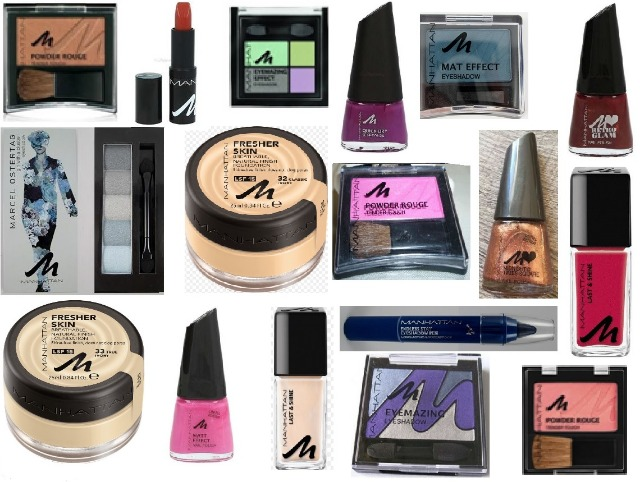 Neuer Manhattan Kosmetik Mix