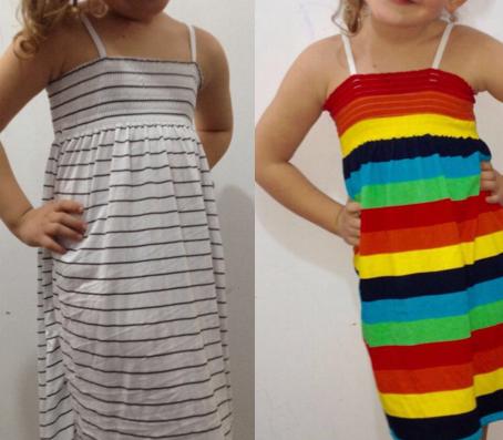 Sommerkleider für Mädchen -A Ware- Jetzt schon an den Sommer denken