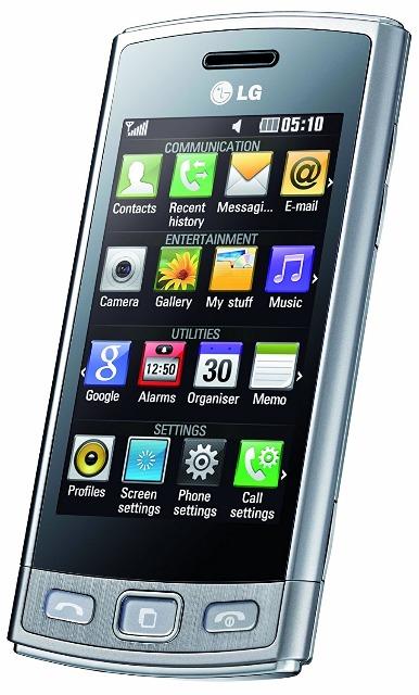 LG GM360 Viewty Plus Smartphone (7,6 cm (3 Zoll) Display, Touchscreen, 5 Megapixel Kamera)
