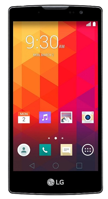 LG Spirit Smartphone (11,94 cm (4,7 Zoll) HD-IPS-Display, 1,3 GHz-Quad-Core-Prozessor, 5 Megapixel-Kamera, 8 GB interner Speicher, Android 5