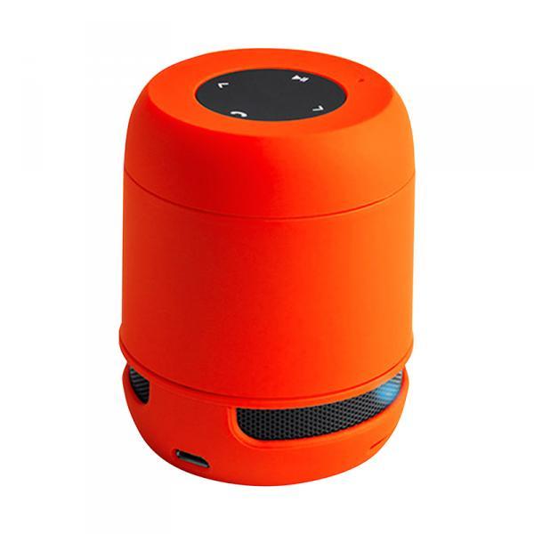 USB Bluetooth Lautsprecher, orange, wireless mit Freisprechfunktion und SD-Slot