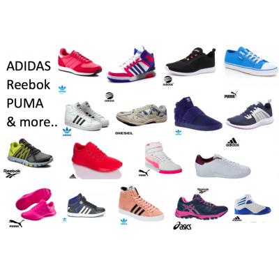 Adidas Markenschuhe Puma Reebok Herren, Damen & Kids Neuware