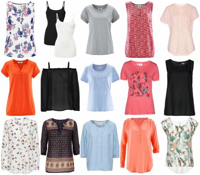 Damen Sommer Bekleidung Restposten T-Shirts Blusen Tuniken Hosen Tops Kleider
