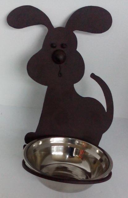 12-6321437, Hundefressnapf  mit Wandhalterung, Trinknapf, Fressnapf