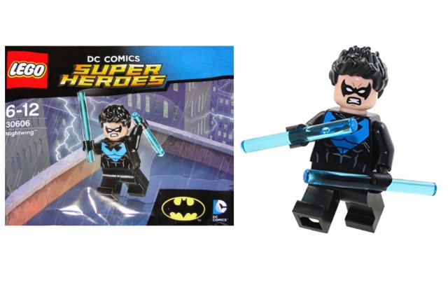 LEGO BATMAN NIGHTWING SUPER HEROES